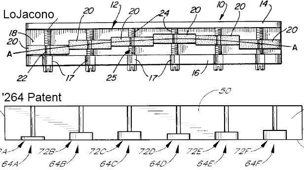 LoJacono AA vs 264 Patent Nut